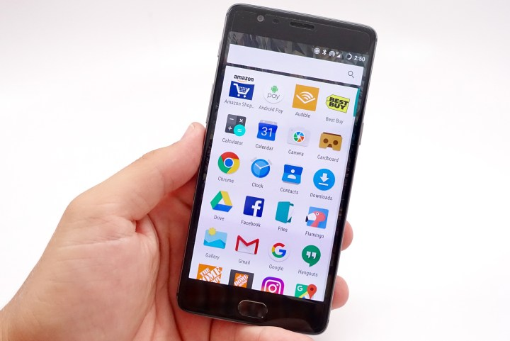 The OnePlus this is an impressive phone.