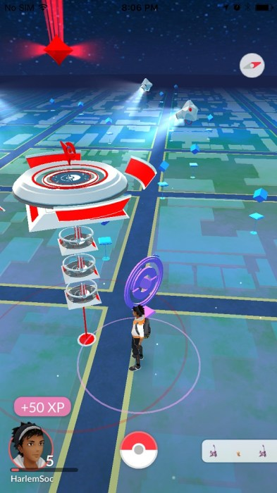 how to join a gym in pokemon go