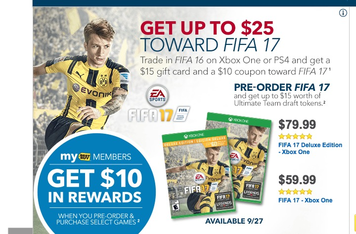 The best FIFA 17 deal you will find.