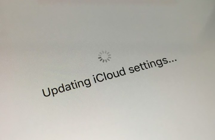 "The iPhone 7 is stuck on ""Updating iCloud settings..."" for some users."