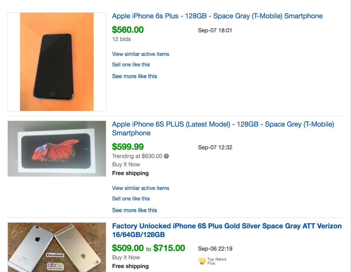 ebay sold listings