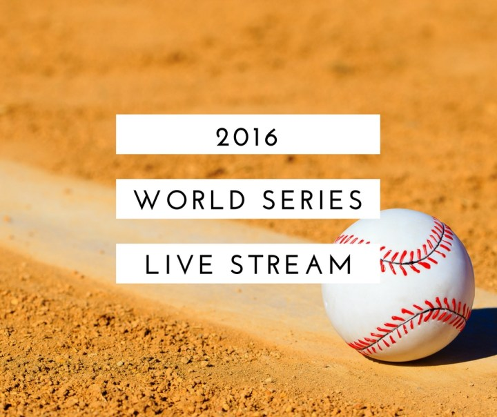 How to Watch World Series Live Stream Online