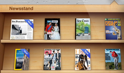 Apple NewsStand - In App Susbcriptions