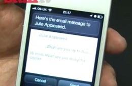 Apple iPhone 4S Siri demo - YouTube
