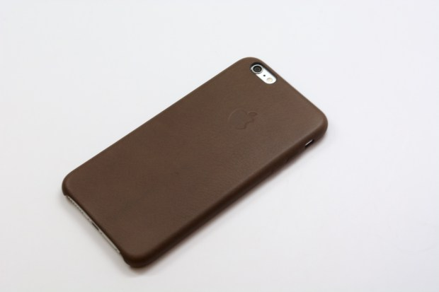 At $49 the Apple iPhone 6 Plus leather case isn't cheap, but it's worth the cost.