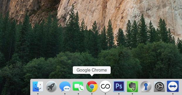 Chrome for Mac