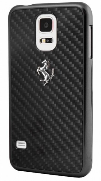 Check out this Ferrari case for the Galaxy S5.