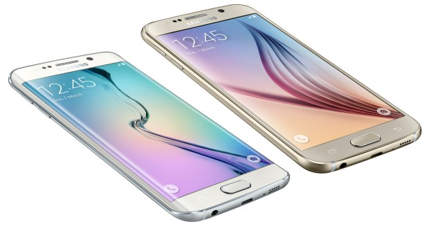 There are small size differences between the Galaxy S6 and GalaxY S6 Edge.
