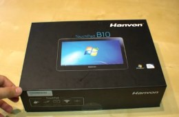 Hanvon-Touchpad-B10-unboxing