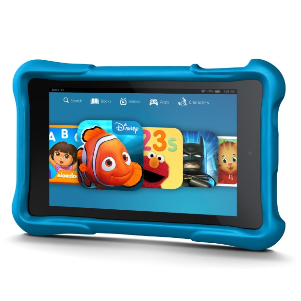There is a special Amazon Fire HD for kids with added benefits for kids.