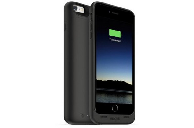 The Mophie iPhone 6 Plus case is offers three color options.