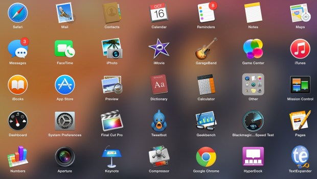 Make sure your apps work with OS X Yosemite.