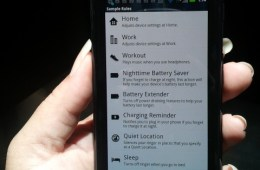 Droid RAZR Smart Actions