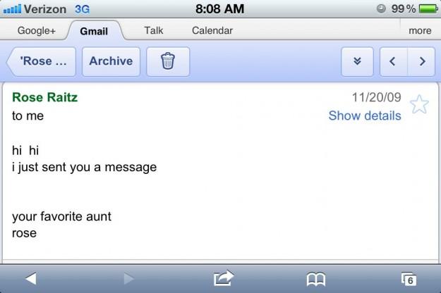 Rosie Email
