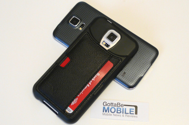 An excellent Galaxy S5 wallet case.