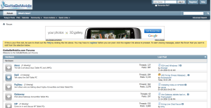 GBM Forum screen grab