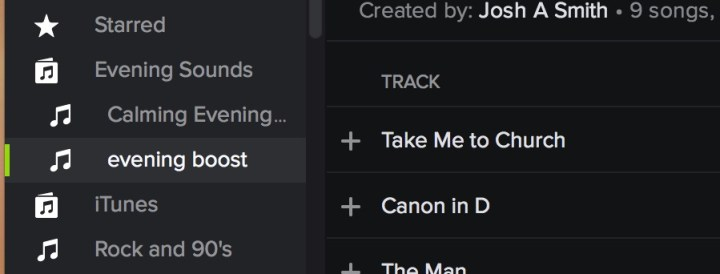 Create folders to organize your Spotify playlists.