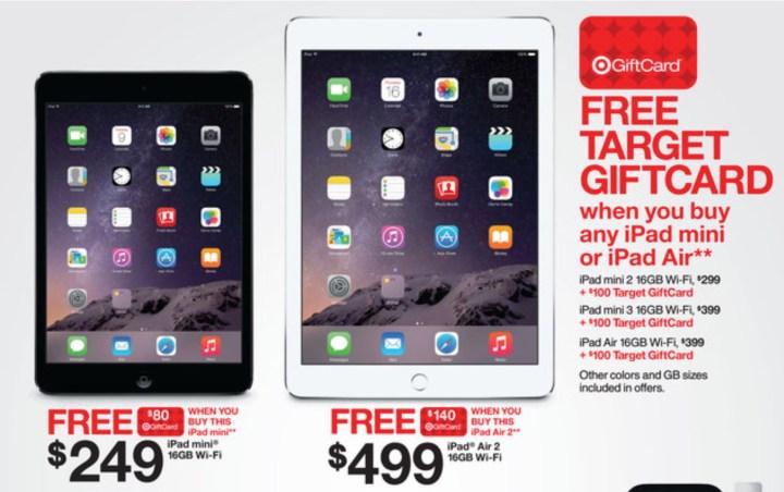 iPad Air 2 Black Friday 2014 Deal