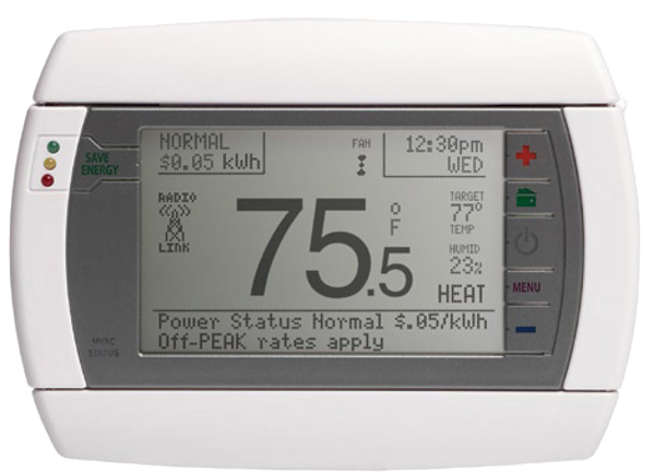 WiFi Thermostat Android and iPhone