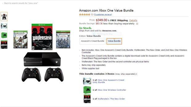Xbox One Amazon Bundle