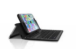 The ZAGG Pocket keyboard is designed for phablets like the iPhone 6 Plus and Galaxy Note 4.