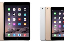 Check out these small iPad mini 3 and iPad Air 2 deals.