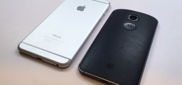 Although similar in size there are differences in the iPhone 6 Plus vs Nexus 6 size and design.