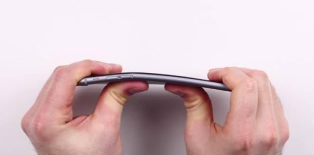 iPhone 6 bending