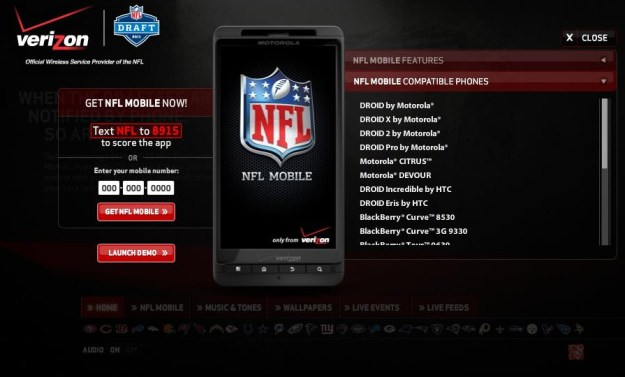 NFL Draft on Android