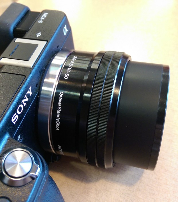 sony nex 6 lens