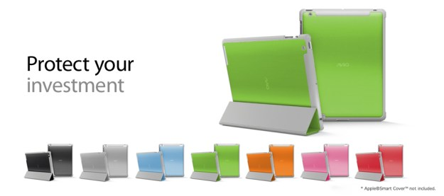 Aviiq Smart Case colors match the Apple Smart Cover