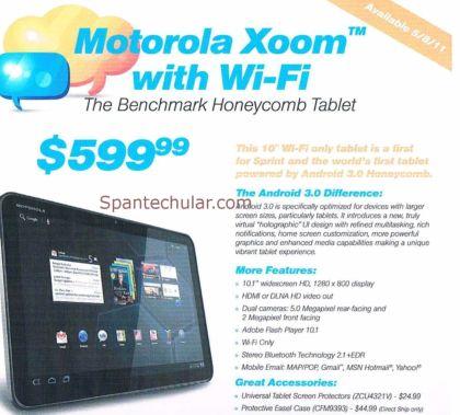 Sprint Motorola Xoom