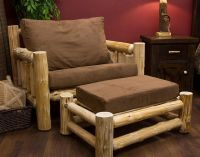 30 Incredible Log Furniture Project Ideas!
