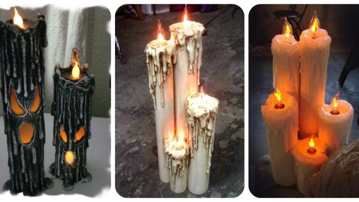 How To Make Pvc Flicker Candles For Halloween Tutorial