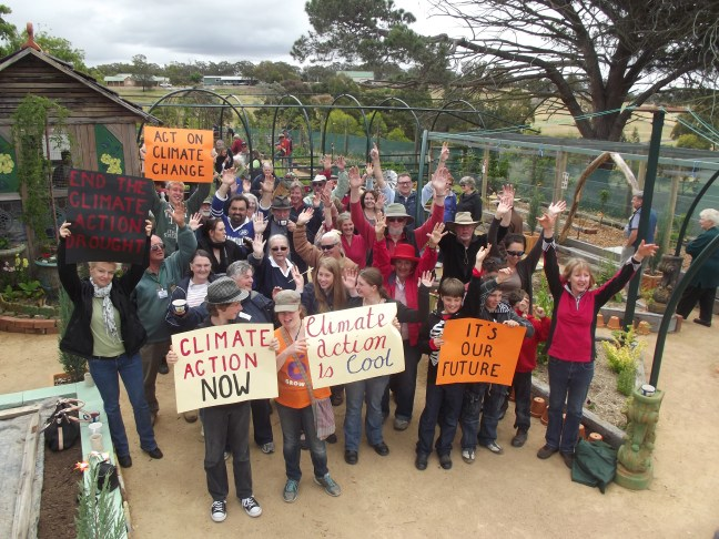 hands up for Climate action