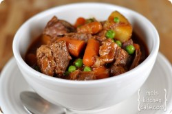 Small Of Hearty Beef Stew