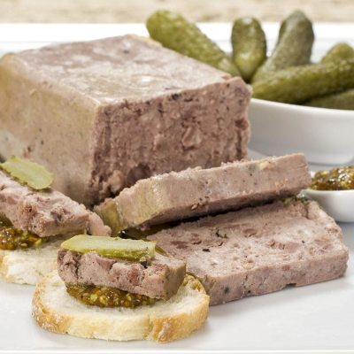 Country Pate with Black Pepper - All Natural by Terroirs d'Antan from USA - buy foie gras online ...
