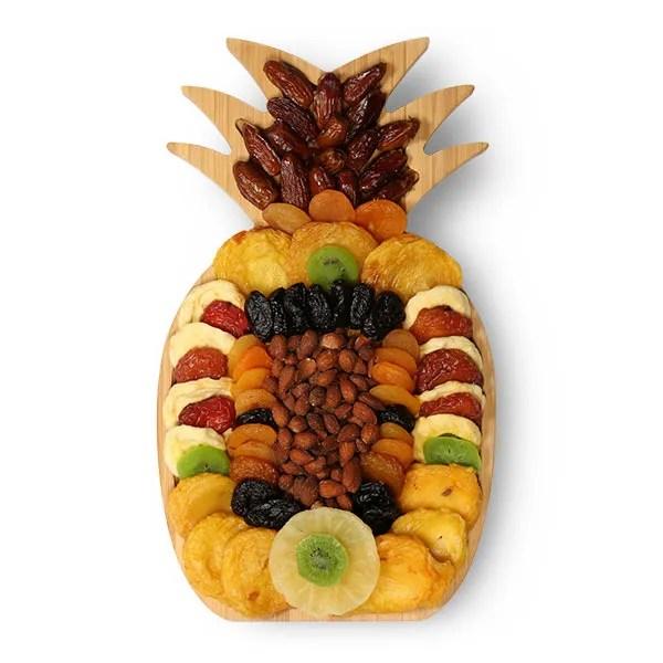 Pineapple Dried Fruit  Nut Gift by GourmetGiftBaskets