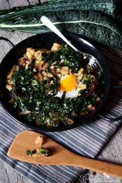 Kartoffel-Kale Fritatta #gourmetguerilla #hippeknollen #reweregional #kartoffelrezepte