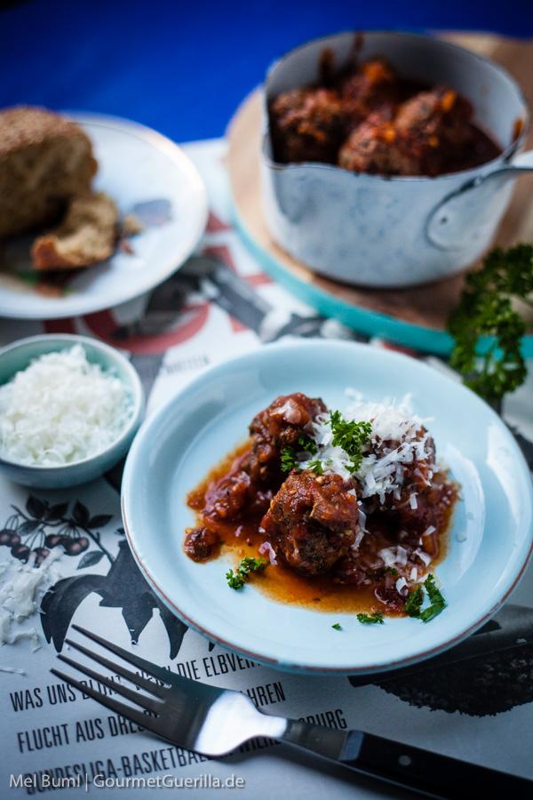 Marinara Meatballs aus dem Schnellkochtopf | GourmetGuerilla.de