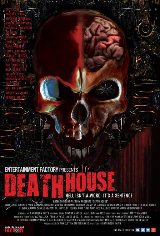 Sean Wilson's excellent poster for 'Death House'
