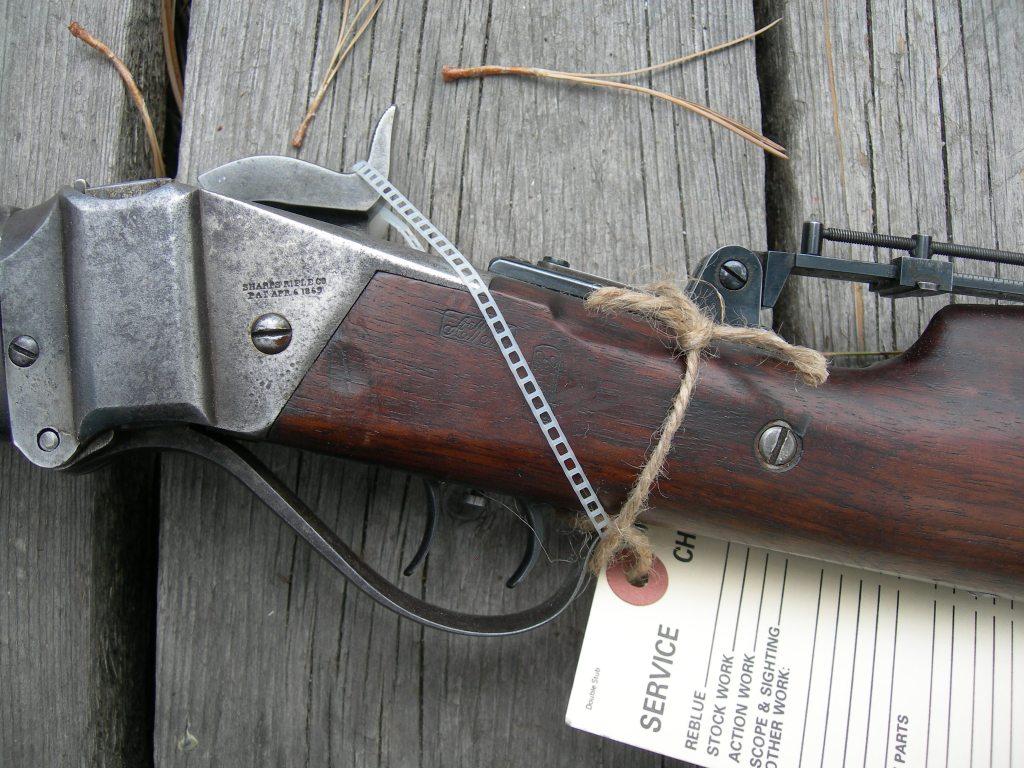 Sharps 1874 Close up