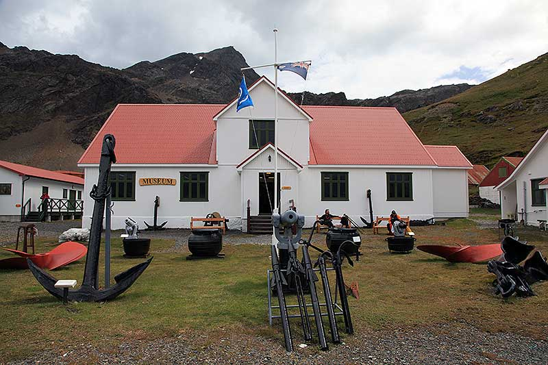 South Georgia Museum at Grytviken.