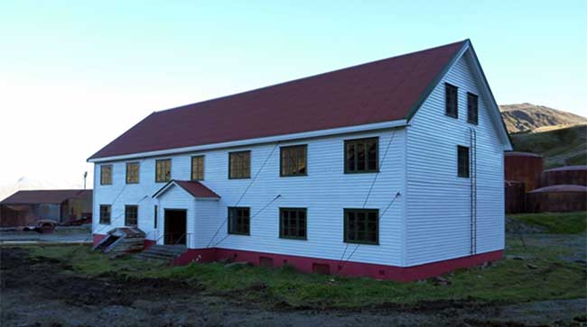 Nybrakke Barracks after restoration.