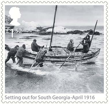 Shackleton Stamp