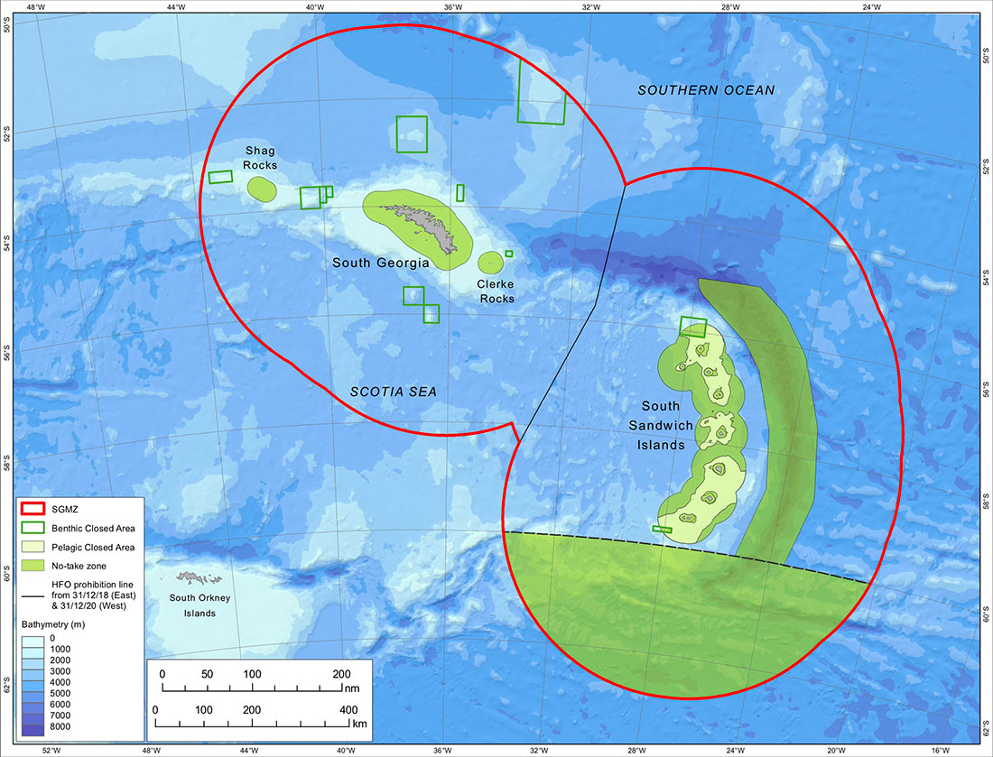 South Georgia & the South Sandwich Islands MPA Enhancements ...