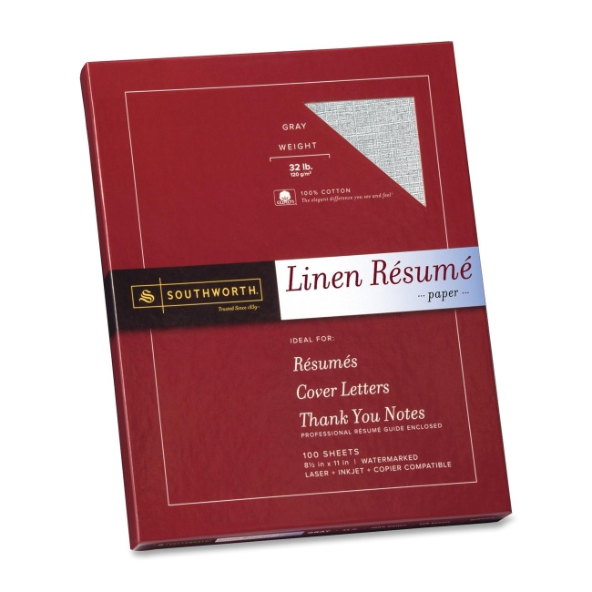 resume paper southworth