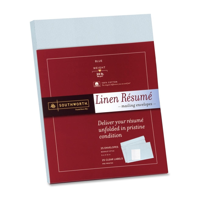 linen resume paper envelopes