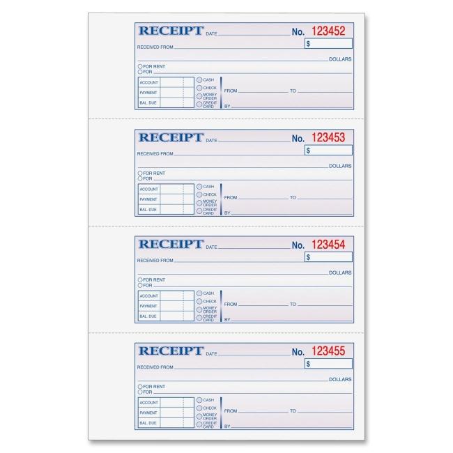 rent receipt book template free - Onwebioinnovate