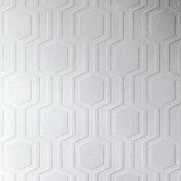 Anaglypta Luxury Textured Vinyl Wallpaper Geo - RD5644